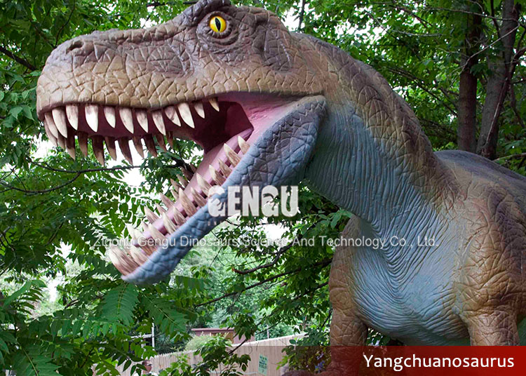 Jurassic theme park dinosaur decoration animatronic