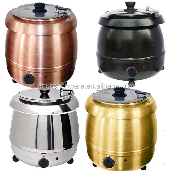 Soup kettle, Bain marie, Display showcase and more food warmer for catering