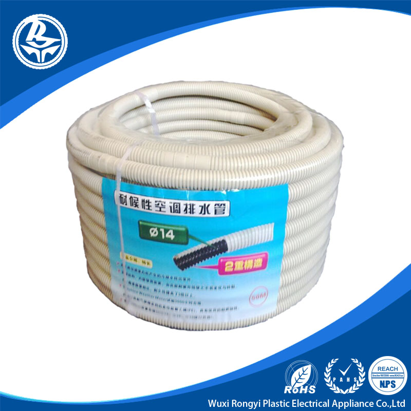 PE air conditioner spare parts flexible corrugated hose