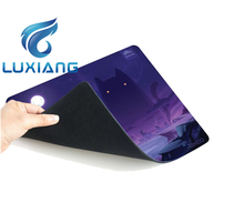 Your personalized rubber mouse pad pvc muse mat 3d custom printed mouse pads