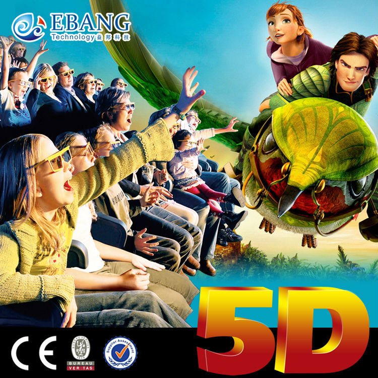 100pcs varity of 5d horror movies with flying motion chair