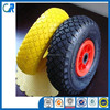 High quality 13 inch flat free wheel for wheel barrow