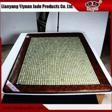 Factory wholesale directly single control dehydrogenation thermal jade heating mattress/pad/mat/cushion