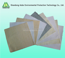 Needle punched felt dust collector filter cloth PPS P84 NOMEX PTFE material filter cloth