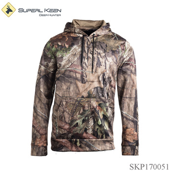 Outdoor Camouflaged Durable Hoodie Hunting Jacket
