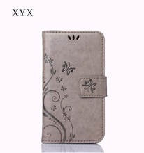 free sample factory wholesale flip leather case for HuaWei Honor 6 plus