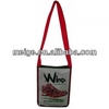 cheap laminated non woven shoulder bag/high quality trendy bag