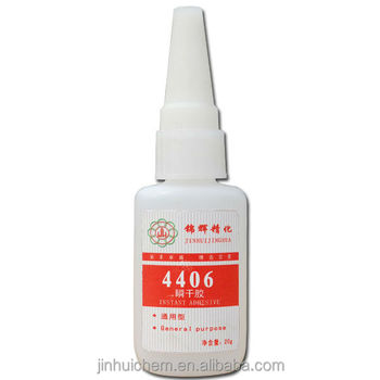 Cyanoacrylate Adhesive Instant Glue 406 For Inert Surface