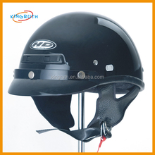 Black Flame Dirt Bike ATV Motocross Helmet Open Face