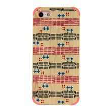 Hot Sale Handmade Real Wood Hard Phone Case Cover For Apple Iphone 5C Mobole Phone Accessories Products