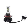 All in One X3 ZES Chip H7 Led Auto Headlights H4 H13 9005 9006 H11 50W 6000K Car Front Bulb Fog Light