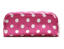 vanity cosmetic bag and lady's polyester cosmetic bag