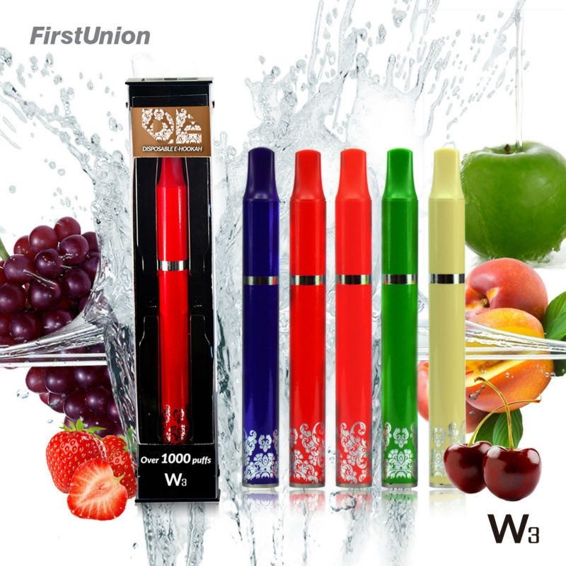 Hot selling products mya hookah W3 1000puffs fresh fruit flavors electric rolling machines