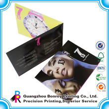 Custom printing cheap sample promotional flyers