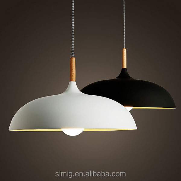 aluminum cheap pendant lighting fixture E27*1-40w for indoor decoration