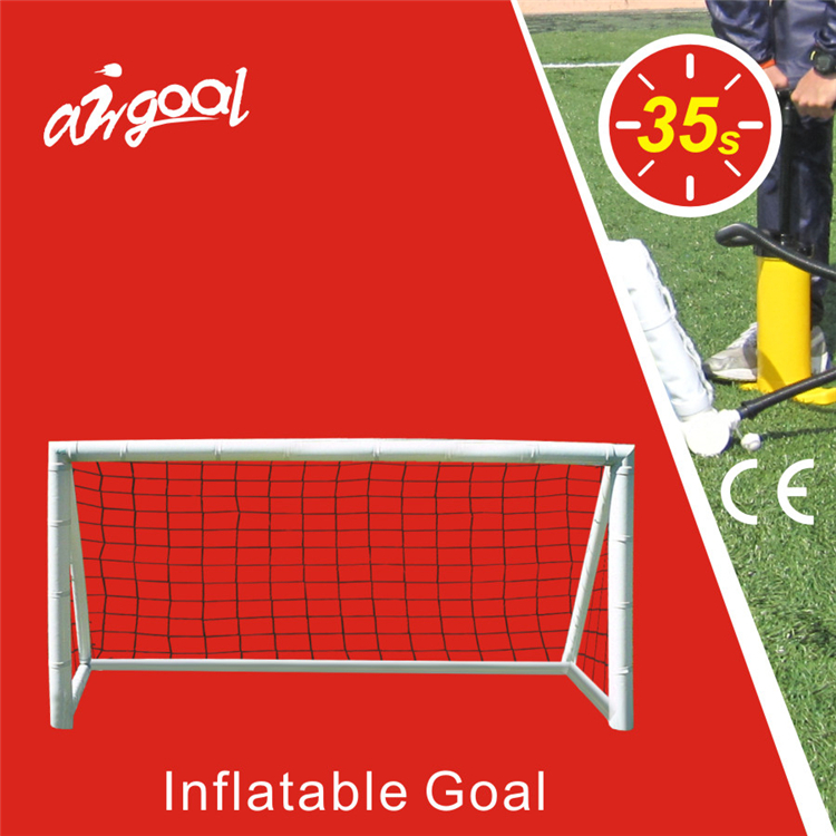 Entertainment products for inflatable soccer goal net
