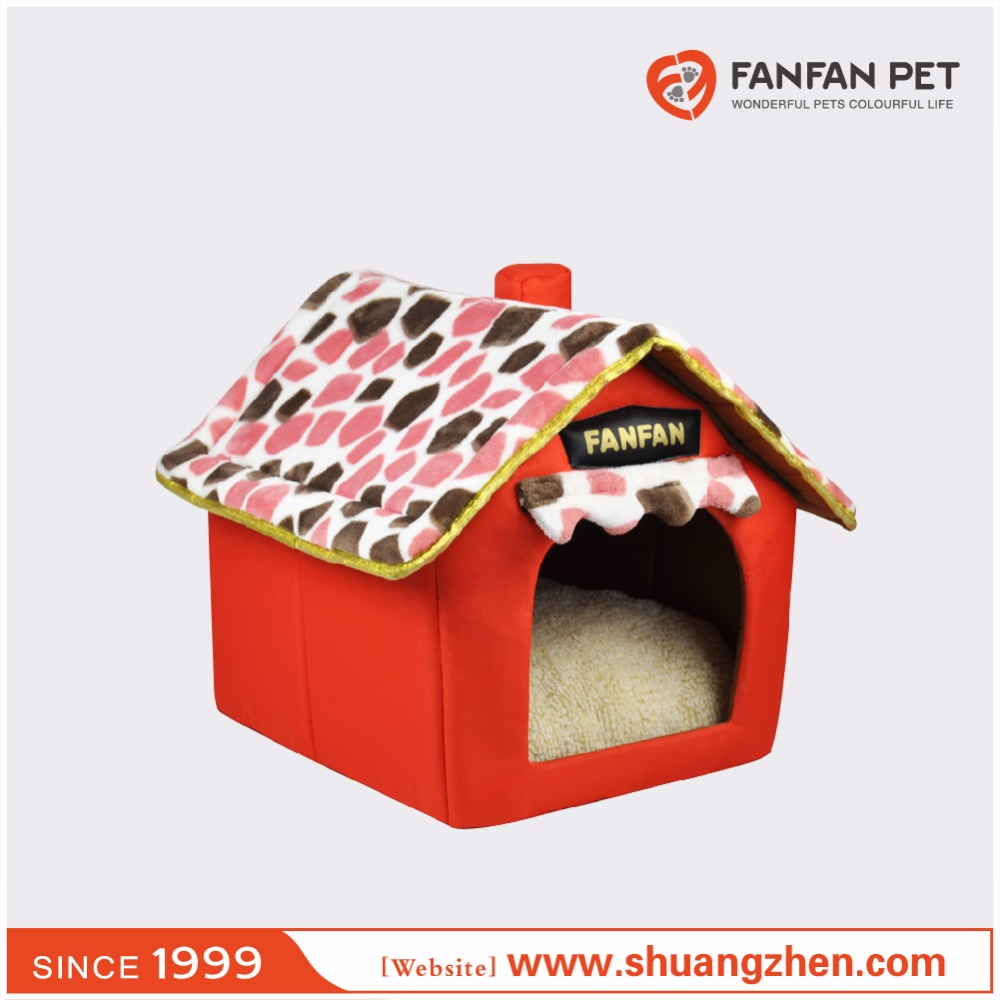 Cat bed removable cat house & soft cozy luxury cat house