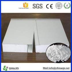 CHINA eps sandwich wall panel steel the prefab house/low price styrofoam sheets/eps raw material