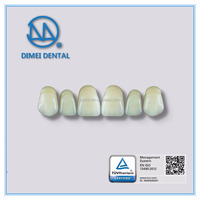 Dental resin denture with good quality
