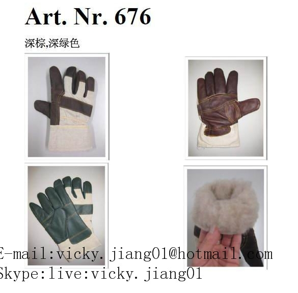 Winter mix security rigger gloves