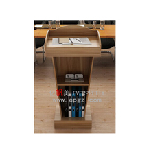 China Supplier Modern Church Podium, Church Rostrum/Pulpit, Church Wooden Furniture for School