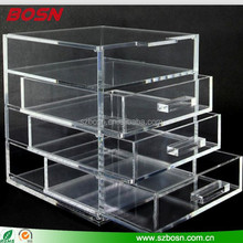 Transparent Acrylic Storage Box & Cases, Acrylic Cosmetic Organizer, Acrylic Jewelry Box