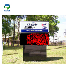 Outdoor moving message led signboard