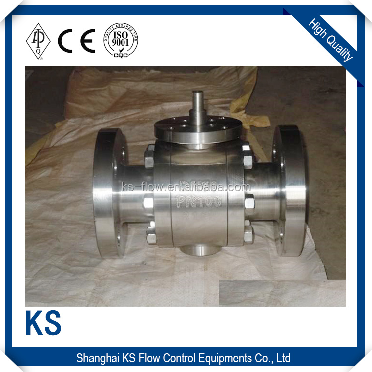 New products 2016 technology carbon steel jis 10k flange ball valve