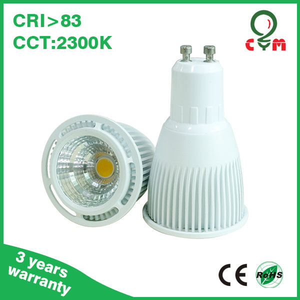 2300k to 6000k mr16 gu10 gu5.3 dimmable 8w cob gu10 led lamp