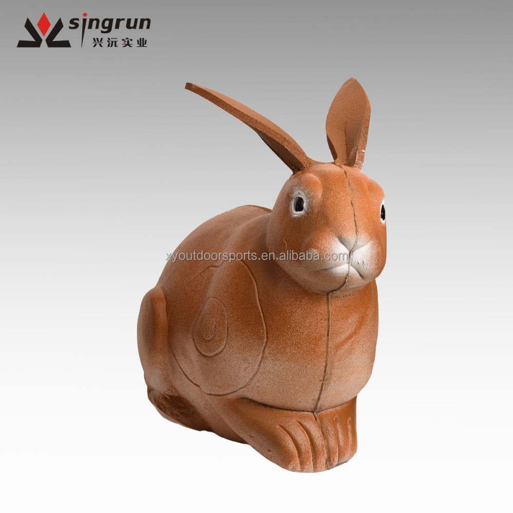 Hot Sell High Quality 44*23*37cm 3D Foam Rabbit Target, Vivid Rabbit Archery Target For Outdoor Shooting