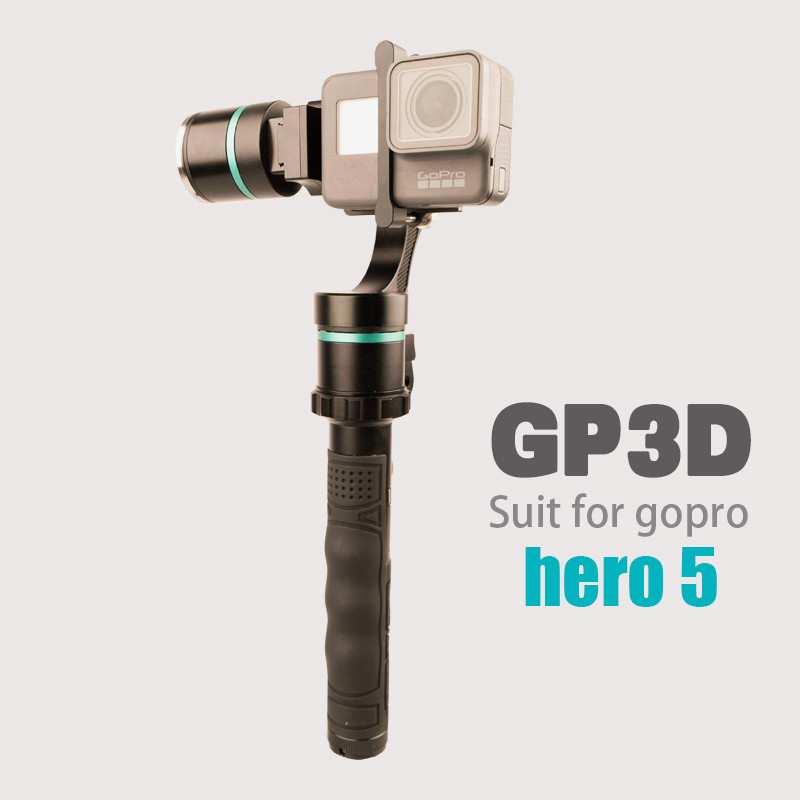 GP3D 3 Axis Handheld & Detachable Stabilizer Brushless Gimbal for GoPros Hero4