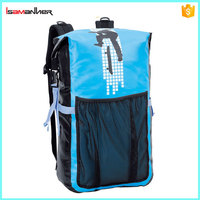 Factory custom tarpaulin pvc travel bag, swimming waterproof pvc duffel bag