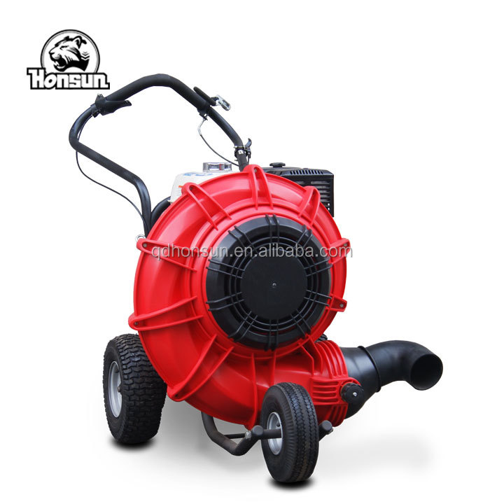 With 18 months warranty 13HP Honda gasoline engine Chinese professional gasoline leaves blower machine