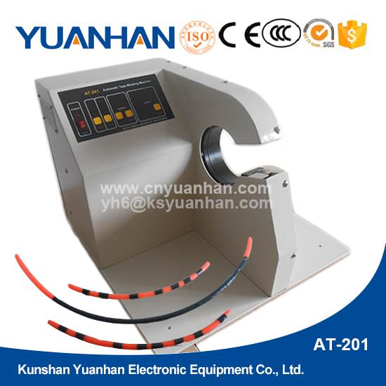 Wire Harness Tape Wrapping Machine : Harness taping machine for cars plaits cables and motor