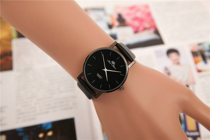 leisure marble quartz watch factory OEM cheap price