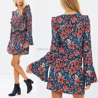 wholesale latest casual wear fashion for women african print dress designs