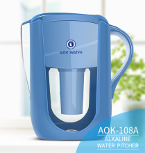 Antioxidant alkaline water filter jug