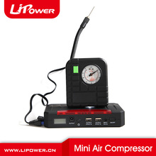 Portable mini tire inflator pumps mini air pump for 12V car