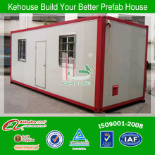 China light steel prefabricated modern 1 bedroom manufactured homes