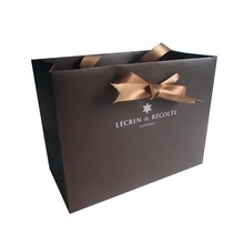 New product recyclable wholesale luxury paper shopping bag