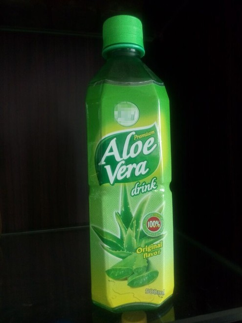 Pure aloe Vera original drink with fresh pulps