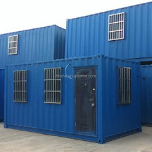 Galvanized steel frame fabricated container homes prefab modular house