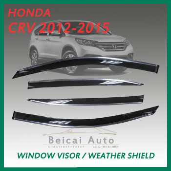 Smoke Window Visor Vent Shade for CRV 2012-UP