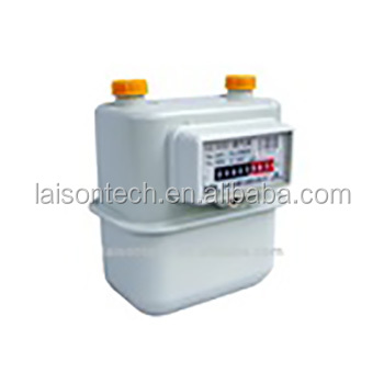EN1359 Certified Diaphragm gas meter G2.5