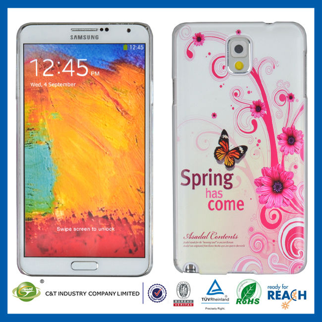 C&T New digital off-set printing clone case for samsung galaxy note 3