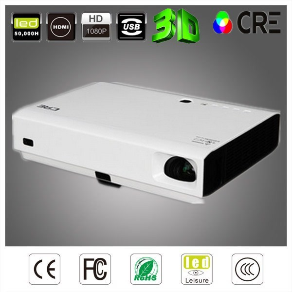 1280 x 800 1080p Infrared Multi-Touch Short Throw, Latest 3D Projector Mobile Phone, Interactive Projector For Education And Bus