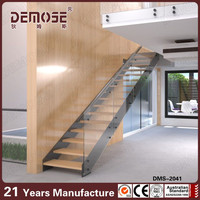 double keel composite stair tread floating stairs diy
