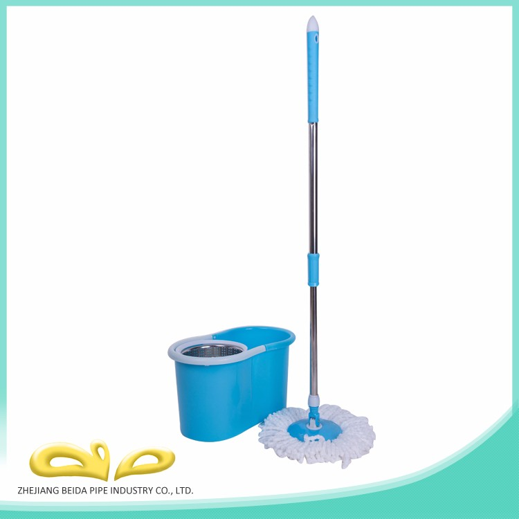 New style folding bucket spin mop