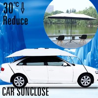 SUNCLOSE good quality protect your car from hail folding inflatable hail proof car cover the best car covers