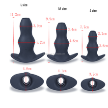 2018 New Arrival Silicone Douche And Enema Man Anal Plug Tunnel Butt Toys for gay